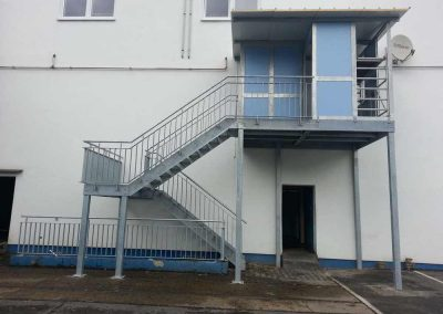 20 Treppe mit Windfang MA S1